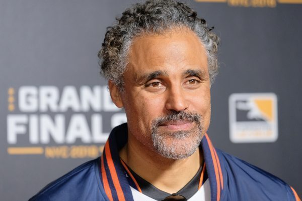 Rick Fox attends Overwatch League Grand Finals. (Photo courtesy of Getty Images)