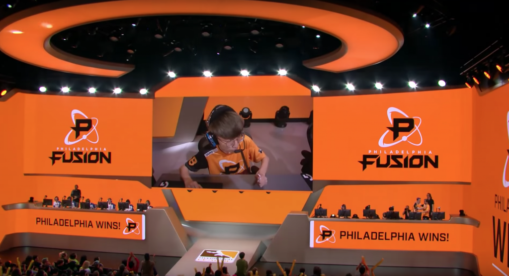 Photo courtesy of Overwatch League Youtube.