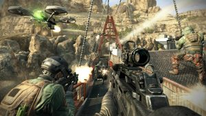 Call of Duty has been the best selling game in the region for nine years straight.