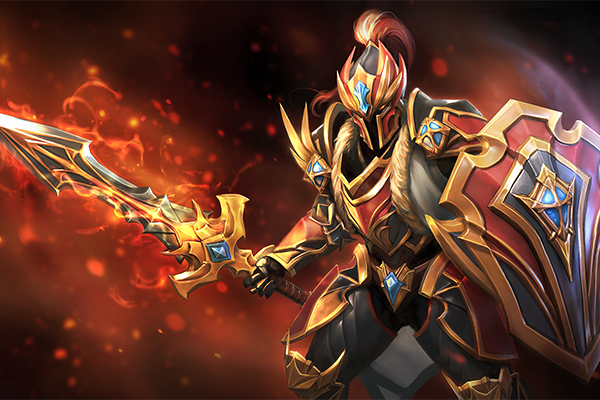Dragon Knight's strength is his ridiculous HP regen (Image via dota2.gamepedia)