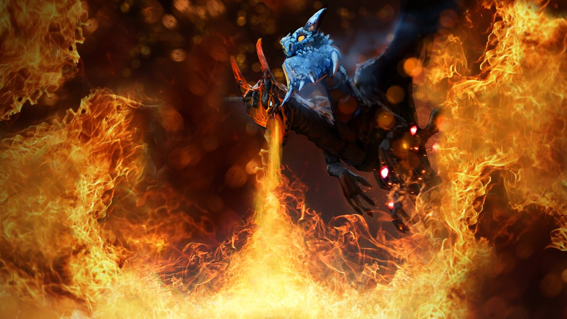 Jakiro is the master of AOE spells (Image via dotafire)