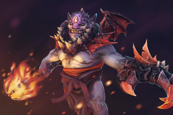Lion is a powerful offensive spellcaster that new players can excel with. (Image via dota2.gamepedia)