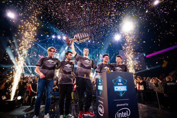 After a back-and-forth Grand Finals, Team Secret came away with the win at ESL One Hamburg (Copyright: ESL