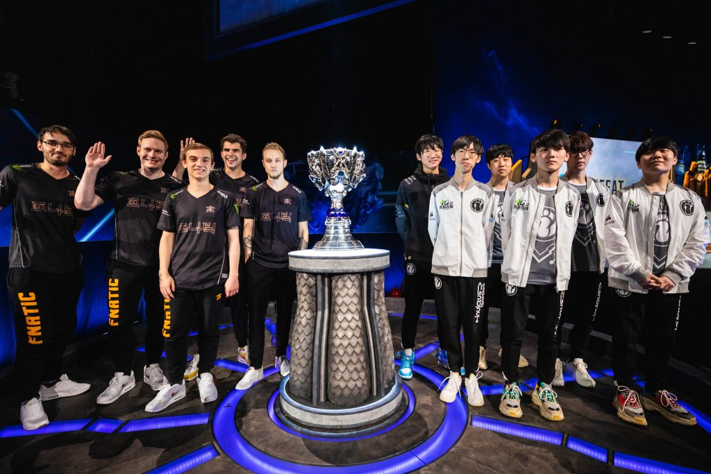 Will Fnatic be able to bring the Summoner's Cup to the West or will Invictus Gaming ensure Asia's dominance. (Photo courtesy of Riot Games)