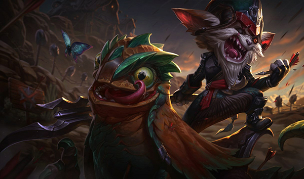 Kled's ability to excel in multiple areas makes him great for solo queue (Image via Riot Games)