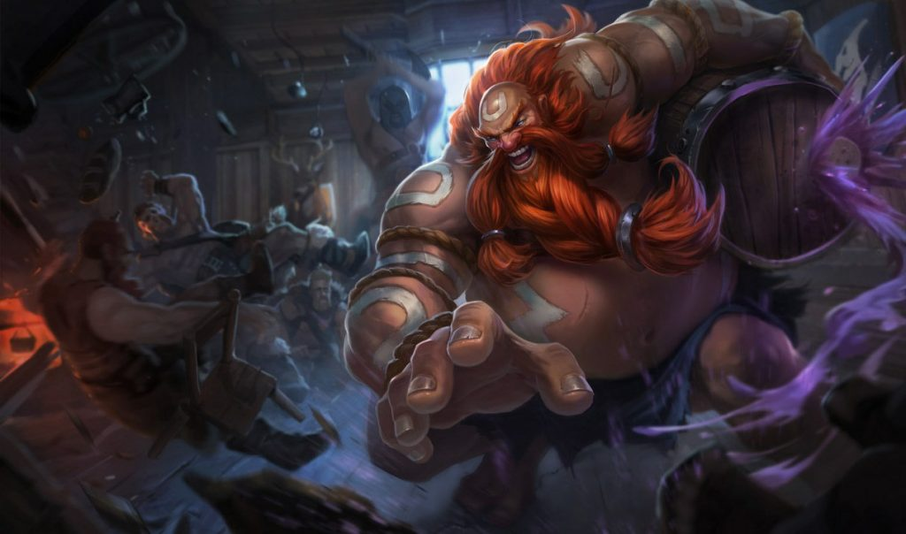Gragas remains one of the most popular champions for the jungle in Patch 8.19.