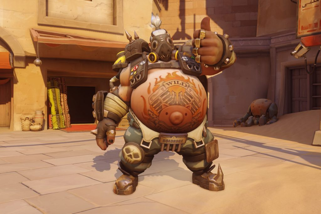 Roadhog is undoubtedly the biggest winner of the newest Overwatch patch.