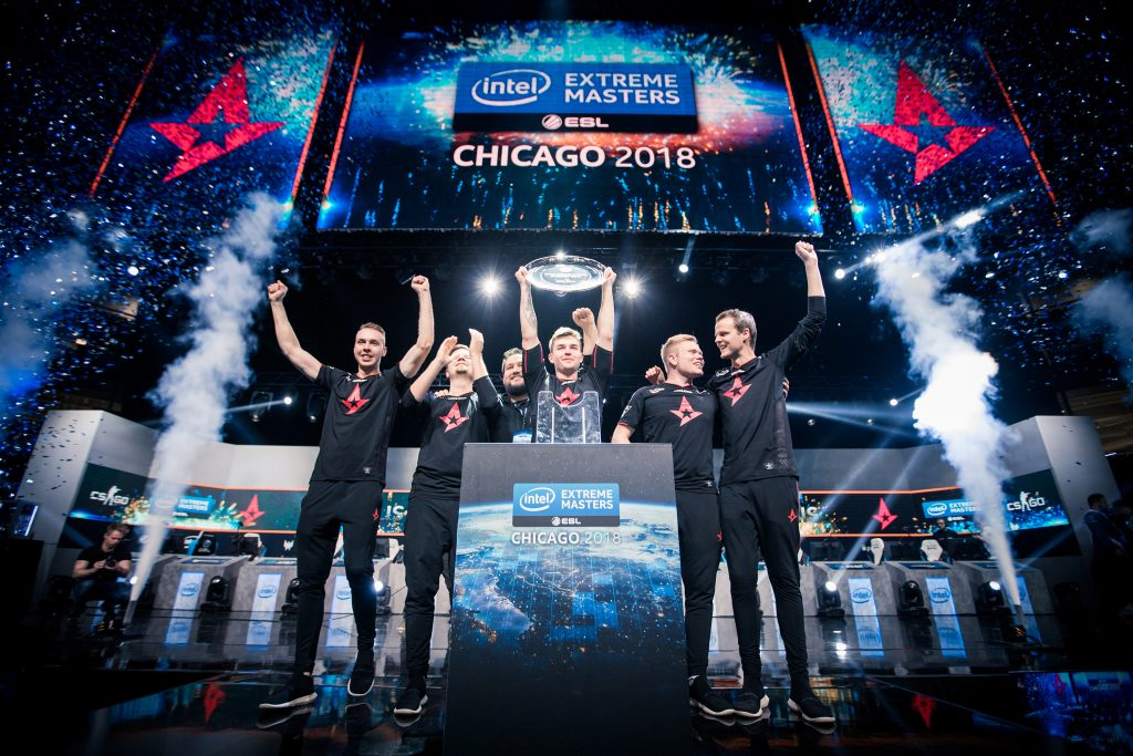 With the event win at IEM Chicago, Astralis is one event win away from winning the Intel Grand Slam $1 million title (Photo courtesy of Helena Kristiansson | ESL)