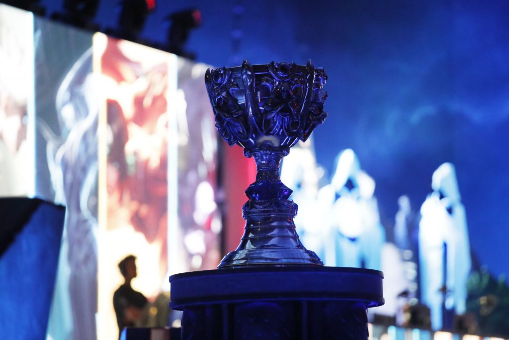 The 2019 League of Legends World Championship Finals will be held in Paris, France. (Photo by Woohae Cho/Getty Images)