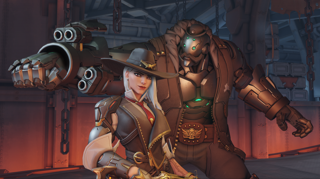 Ashe - the leader if the notorious Deadlock Gang - was unveiled as Hero 29 at Blizzcon. (Image courtesy of Blizzard Entertainment)