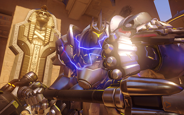 Reinhardt is one of the more straightforward Heroes in Overwatch (Image via Blizzard Entertainment)