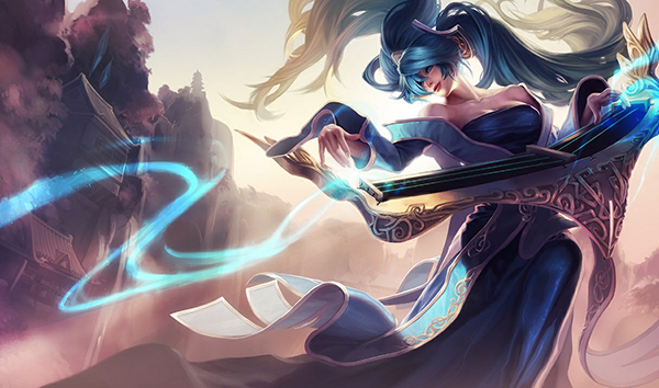 The Enchanter role is what you would expect in a traditional support role in many games (Image via Riot Games)