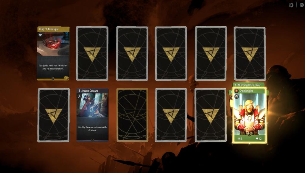Artifact cards