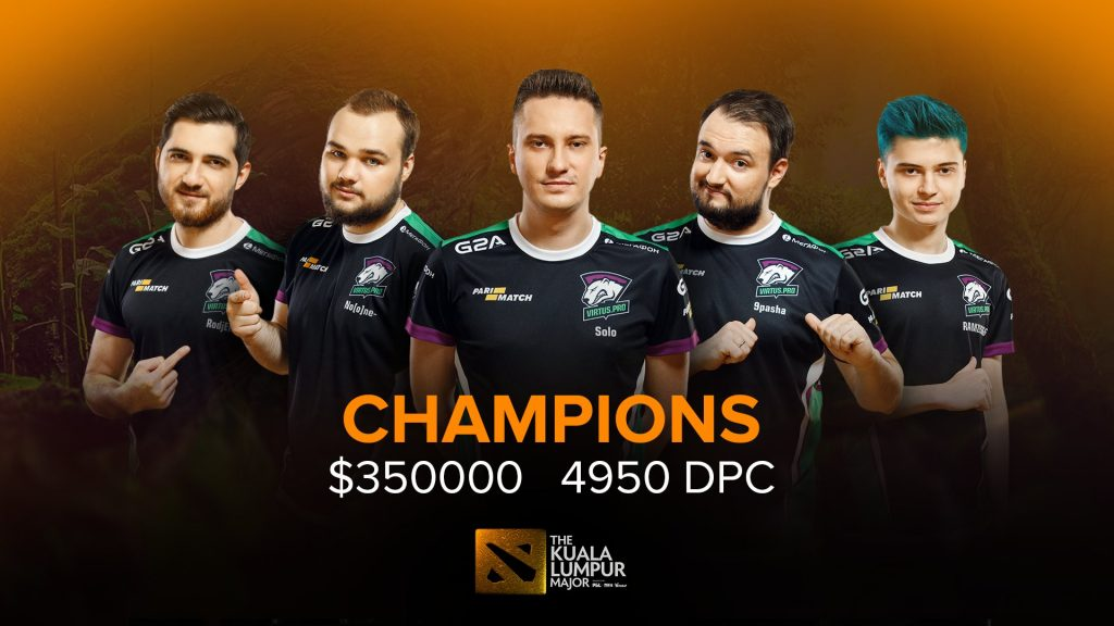 Team Secret and Virtus.pro battled it out in a best-of-five Grand Finals in Kuala Lumpur, but ultimately it was VP that took the first major of the year.
