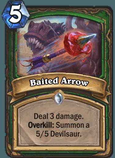 Baited arrow hearthstone