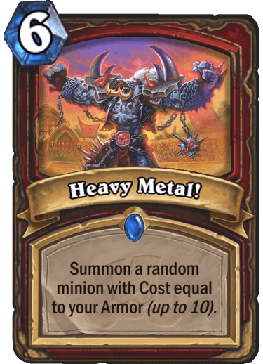 Hearthstone heavy metal
