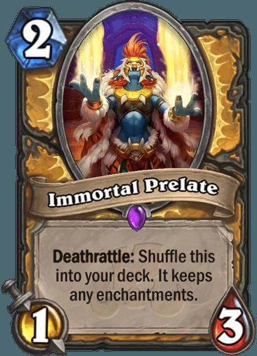 Hearthstone Immortal Prelate