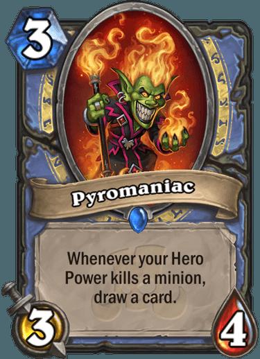 Hearthstone pyromaniac