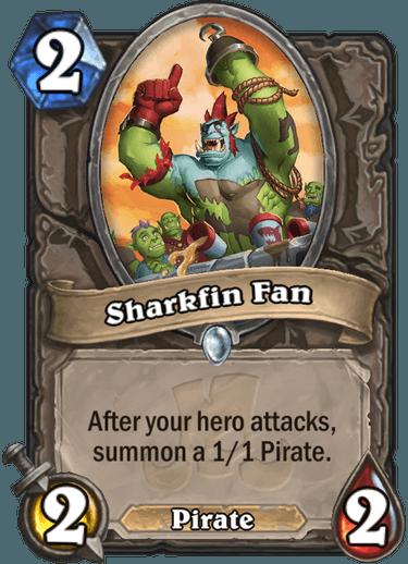 Hearthstone sharkfin fan