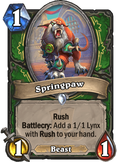 Hearthstone springpaw