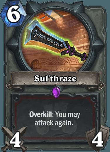 Hearthstone Sul'thraze