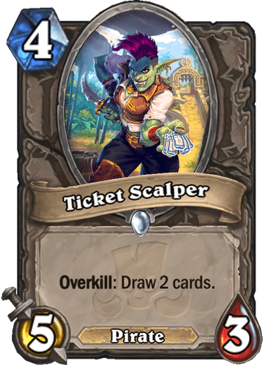 Hearthstone ticket scalper