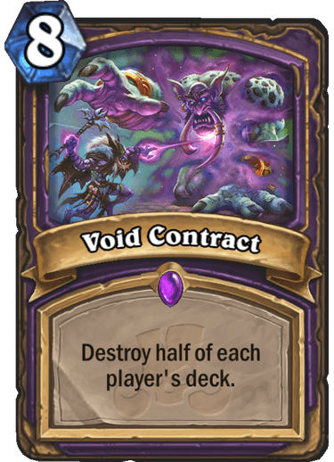 Hearthstone void contract