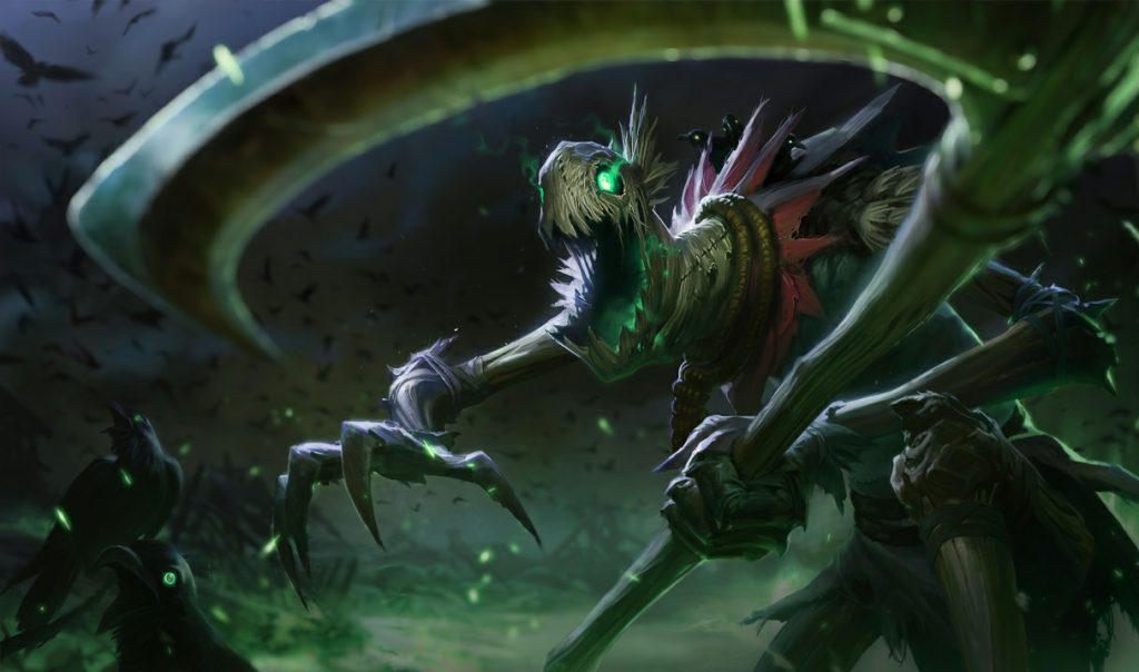 If you are looking for some extra magic boost in your team comp, playing Fiddlesticks in the jungle could be the key (Image courtesy of Riot Games)