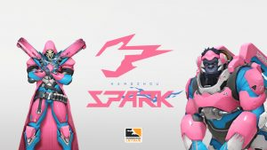 The Hangzhou Spark Debut in Fabulous Fashion