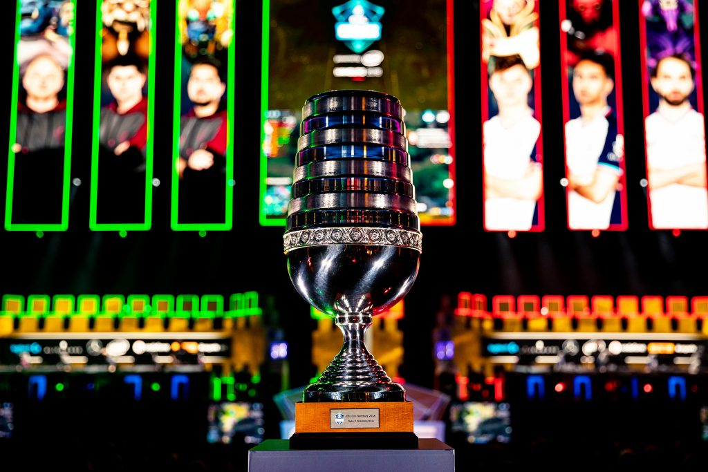 ESL One Hamburg trophy