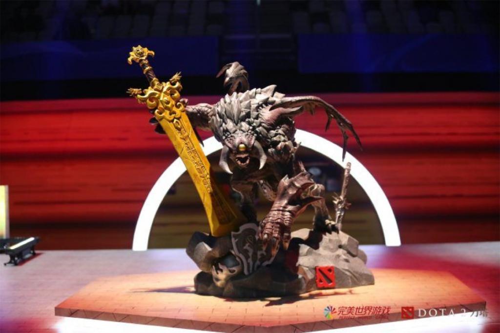Dota 2 Asia Championships 2018 Baron statue
