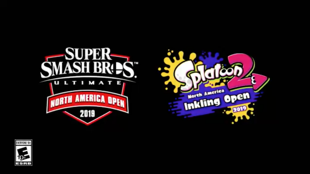 Nintendo of America has announced two qualifying competitions, one for Super Smash Bros. Ultimate and a second for Splatoon 2.