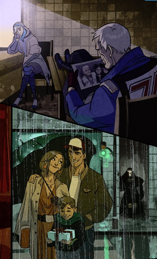 Bastet Ana Overwatch comic