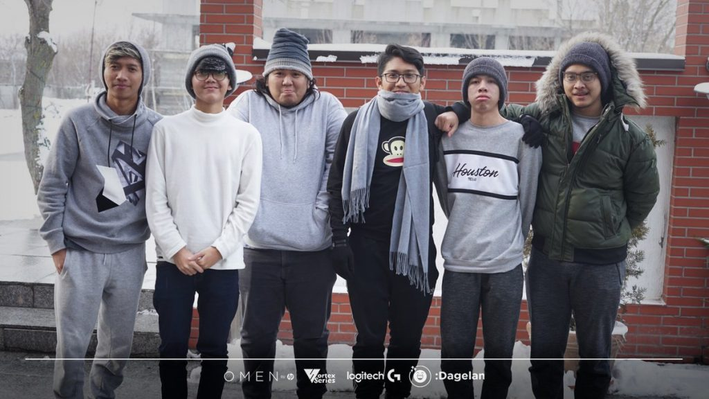 There was only big disappointment for BOOM ID at the Bucharest Minor today, as the Indonesian squad gg'ed out following a tense team fight. (Photo courtesy of BOOM ID's Twitter)