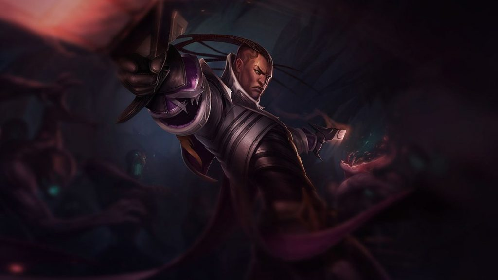 Lucian is one of four champions to have a 100% pick/ban rate through the first two weeks of LCK action.