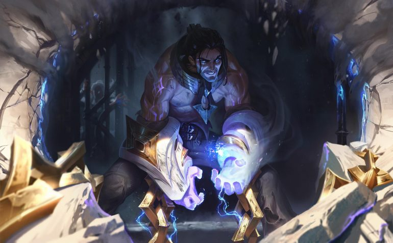 Sylas, the Unshackled has a kit the revolves around the deadly chains attached to his arms.