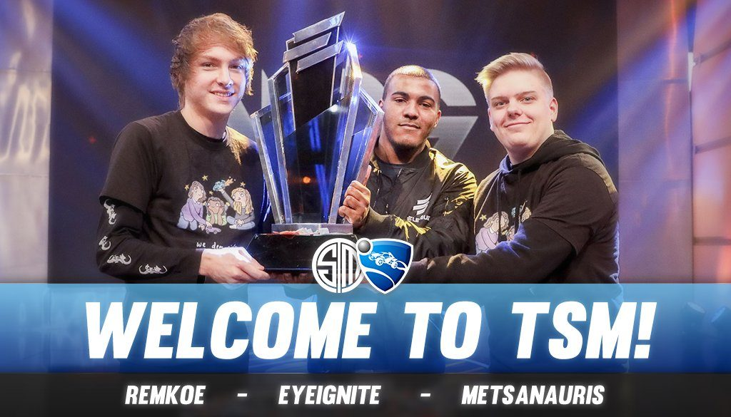 One of esports' most well known organizations, Team SoloMid, has officially entered the Rocket League scene by signing We Dem Girlz.
