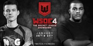 The World Showdown of Esports - better known as WSOE - is moving to Rocket League as the fourth game of the tournament series. Previous WSOE events featured Dota 2, Hearthstone and Fortnite, in that order.