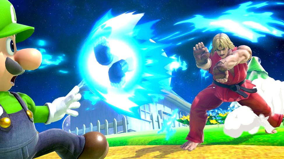 Smash Bros Mario