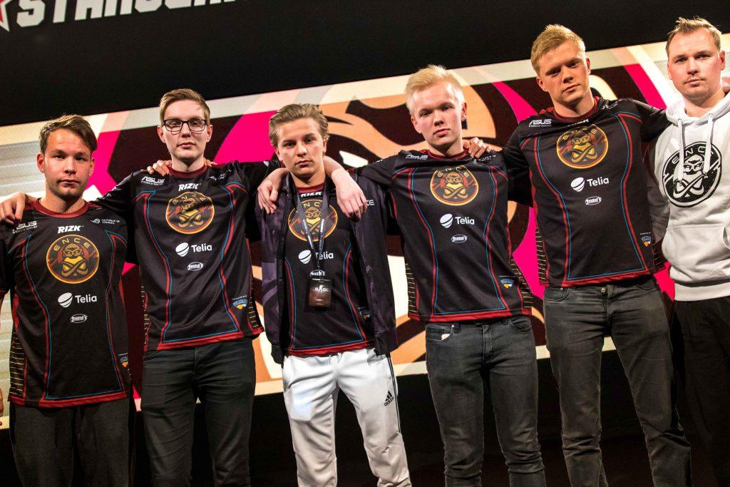 Finnish tacticians, ENCE, would take one step closer to their playoff dream in Katowice. (Image courtesy of Ence.gg)
