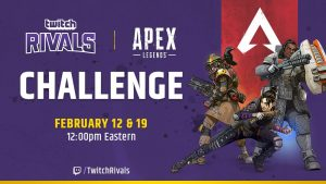Apex Legends, Twitch Rivals Partner for $200,000 Tournament