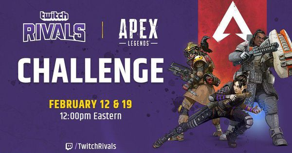 Twitch Rivals series of game-specific challenges for streamers continued on February 19 with the Twitch Rivals Apex Legends Challenge.