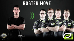 Dashy Temporarily Out, ZooMaa in for OpTic Gaming