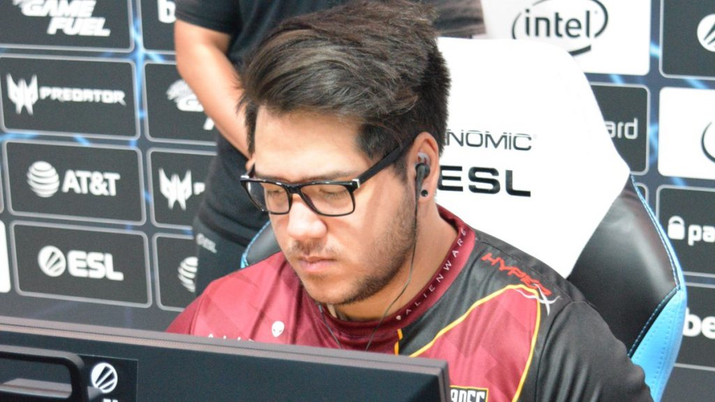 Renegades was one of two teams who booked their trip to the Legends Stage on Day 2 (Photo courtesy of Renegades)