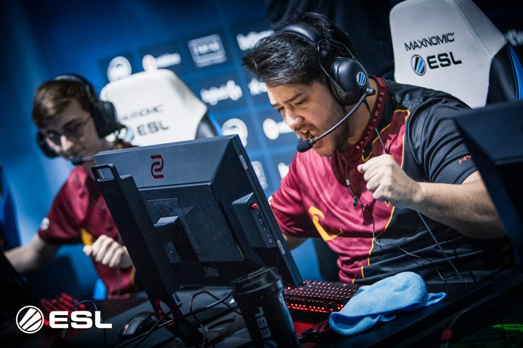 Renegades became the first Australian team to ever qualify for the Top 8 in a Valve Major (Photo courtesy of ESL)