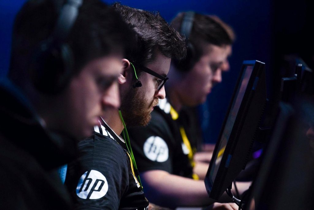 It wasn't easy but Team Vitality fought past ViCi Gaming on Day 3 (Photo courtesy of Team Vitality)