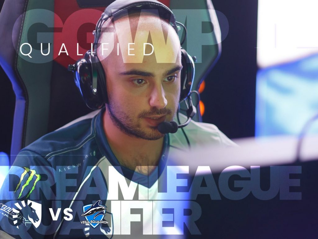 Team Liquid joins Ninjas in Pyjamas and Team Secret as the DreamLeague qualifiers from Europe (Image courtesy of Team Liquid)