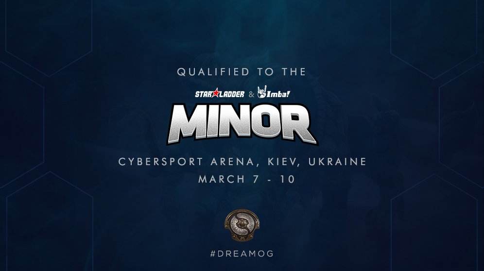 Eight teams have now qualified for the StarLadder ImbaTV Minor, one from each region, with two from China and two from the CIS region. (Image courtesy of OG Esports)