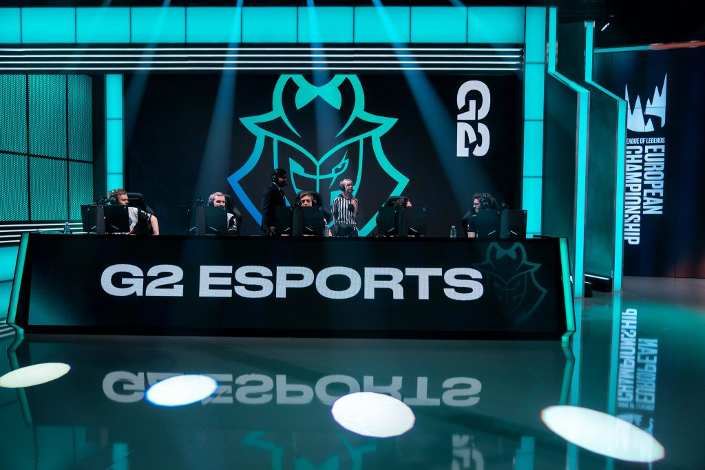 Week 4 of the 2019 LEC Spring Split is in the books, with G2 Esports still in sole possession of first place thanks to a dominant performance. (Photo courtesy of Riot Games)