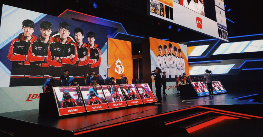 Two teams face-off in LPL action.